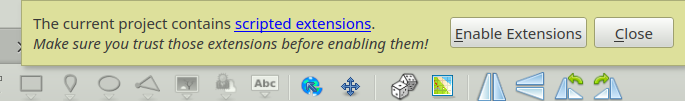 Extensions Popup